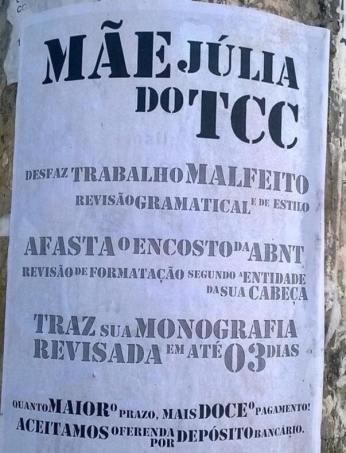 Mãe Julia do TCC